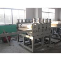 China Twin Conical Screw Wood Plastic Production Line For Crust Furniture Board on sale