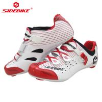 China Shockproof Mens SPD Cycling Shoes Water Resistant Anti - Collision Design on sale