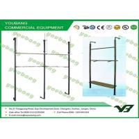 Eco Friendly Foldable Wall Mounted Metal Garment Rack Household Clothes Hanger