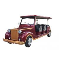 China 8 Seats Electric Sightseeing Car Shuttle Bus Rail Traction Motor 800kg Weight wholesale