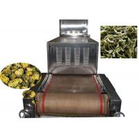 China 80 KW Microwave Vacuum Drying Equipment Tea Sterilization In Food Industry wholesale