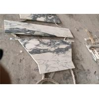China Seam Arabescato Marble Slab , Luxury Prefabricated Kitchen Countertops wholesale