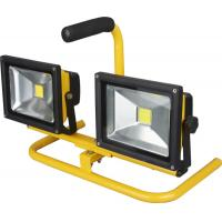 China Rechargeable led battery floodlight 5 hours Working with Bridgelux wholesale