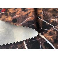 China Windproof Waterproof Outdoor Fabric Printed 4 Way Stretch Fabric Bonded Transparent Film wholesale