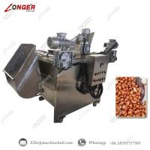 China Peanut Frying Machine Automatic Peanut Frying Machine Manufacture Commercial Peanut Fryer Equipment Fryer Machine wholesale