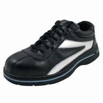 Quality Rubber Cemented Ladies Safety Shoes with Steel-toe Cap for sale