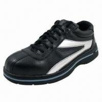 China Rubber Cemented Ladies Safety Shoes with Steel-toe Cap wholesale