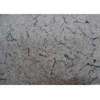China Carrara Mable Imitate Synthetic Artificial Quartz Stone Slabs on sale