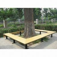 China Steel calls environmental wood chair, used in gardens wholesale