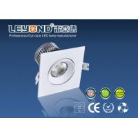 China Different power Square LED Bathroom LED DownLights 2700K - 6000K with High CRI 80 on sale
