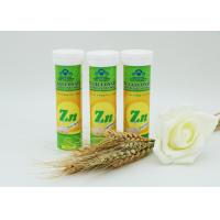 High Absorptivity Zinc Effervescent Tablets With Sweet / Sour Flavour
