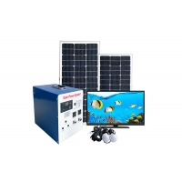 China 1500W 15h Home Solar System Kits Polycrystalline Silicon 20hrs For House on sale