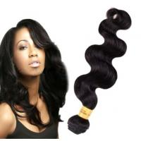 China Long Lasting100 Indian Human Hair Weave For Black Women Body Wave wholesale