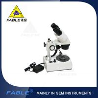 China Generation 1st Straight arm type Gem Microscope With F19 binocular lens wholesale