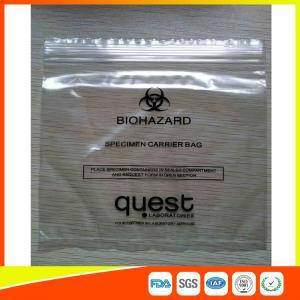 Buy cheap 産業Reclosableプラスチック標本袋は、包装のジッパー ロック承認されるFDAを袋に入れます from wholesalers