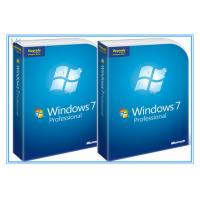 China Microsoft Windows Software Windows 7 Pro 64 Bit Full Retail Version DVD Sofware With COA 100% Activation wholesale