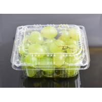 China High Clear Grape Box Disposable Plastic Fruit containers wholesale