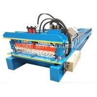 China 380v 3kw Galvanized Corrugated Roof Sheet Roll Forming Machine Manufacturer on sale
