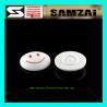 EAS RF Hard Tag Security Alarm System Smile Face EAS Hard Tag White/grey/black 45*16mm
