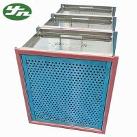 China Stainless Steel High Temperature HEPA Filter on sale