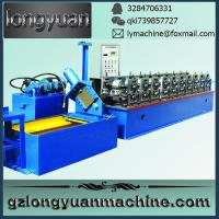 Buy cheap purline roll forming machine,metal roof ridge cap roll forming machine from wholesalers
