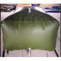 China Army 3000L Gasoline Bladder Fuel Tank Collapsible Water Bladder Tank For Truck wholesale