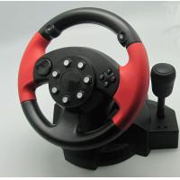 China Small USB Vibration PC Game Racing Wheel Pc Steering Wheel And Pedals wholesale