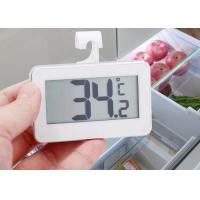 China ABS Plastic Refrigerator Freezer Thermometer With Large LCD Display Screen wholesale