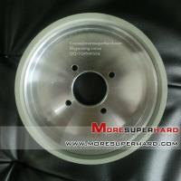 China 150*40*40*6*10 W40 cup-shaped ceramic diamond grinding wheel for carbide tool  Cocoa@moresuperhard.com on sale