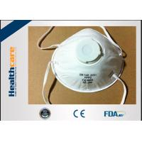 China FFP3 / FFP4 Disposable Face Mask Surgical N95 Respirator With Valve Anti Virus wholesale