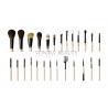 China Top Grade Custom 26Pcs Animal Hair Goat Hair Makeup Brush Set Powder Foundation Eye Makeup Brushes wholesale