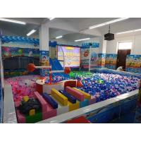 Buy cheap Theme Park Interactive Floor Projection Game Motion Throwing Ball For Kids / Indoor Soft Playground from wholesalers