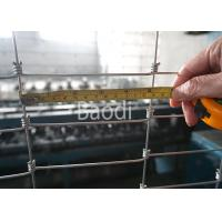Buy cheap Hinge Joint Knot Woven Farm Fencing In Rolls Height From 0.8m to 1.8m Steel Wire Fence from wholesalers