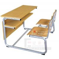 China Double Student Desk and Chair, Popular Double Desk and Chair (GT-51) wholesale