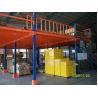 China Pisos de entresuelo industriales de la estructura de acero con la placa para el almacenamiento o laminar de la oficina wholesale