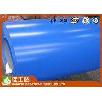 China Full Hard Cold Rolled Color Steel Coil For Metal Structure , Colour Coated Coils wholesale