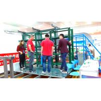 China Blue / Green Mould Storage Racks With Crane Drawer Type L3100 * W600 * H2000MM wholesale