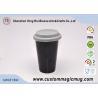 Black Starbucks Ceramic Travel Mug With Lid , Large Ceramic Coffee Mugs