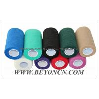 China Knee Hand Tear Self Adhesive Sports Strapping Tape For Wrapping Joints on sale