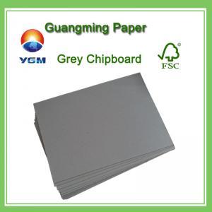 Buy cheap Ambas hojas laminadas papel gris del conglomerado del conglomerado del lado que from wholesalers