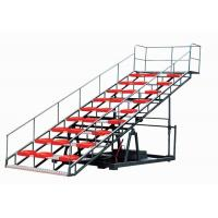 China High Tension Portable Aluminum Bleachers Prefabricated Space Frame Indoor Gym Bleachers wholesale