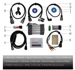 China Super MB Star C3 Mercedes Benz Diagnostic Scanner , Vehicle Diagnostic Tool wholesale