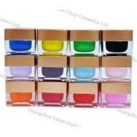 China 15g / Bottle Glitter UV Gel Nails At Home For Nail Polish With 160 Colors wholesale