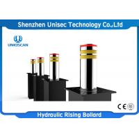 Buy cheap Integrated Electro Hydraulic Rising Bollards With PLC Control System from wholesalers