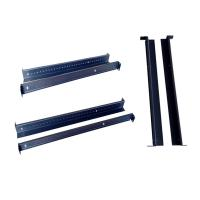 China Flexible Length Wall Support Bracket Adjustable Sliding Rails For 100mm 2 Post Open Racks wholesale