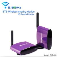 Buy cheap 5.8GHz Anti-interference 300 Meter Transmit Distance Wireless AV Transmitter Receiver with IR Remote for Set Top Box from wholesalers