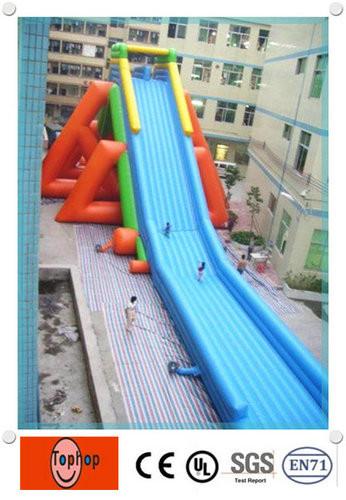 Color Slides Of New York City April 1979: Blow Up Water Slide Images