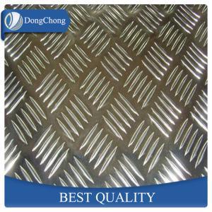 China Decorative Diamond Aluminum Sheet / Aluminium Checker Plate Easy Forming wholesale