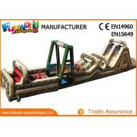 Buy cheap Commercial Inflatable Obstacle Tunnel Giant Inflatable Obstacle Course for Sale from wholesalers