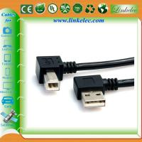 China Double angle usb cable wholesale